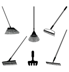 rake vector image