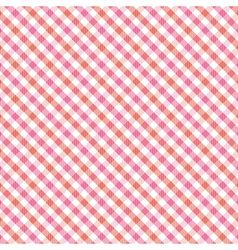 Red and pink plaid pattern1 vector