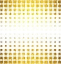 Banner abstract gold background halftone vector