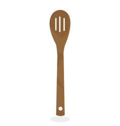 Bamboo spoon vector