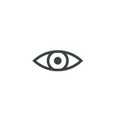 Eye icon simple vector
