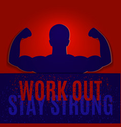 sport motivational poster vector image