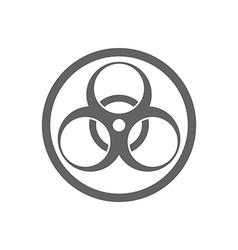 Biohazard symbol isolated vector