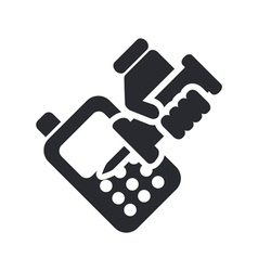 phone repair icon vector image vector image