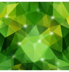 Modern abstract geometric green background vector