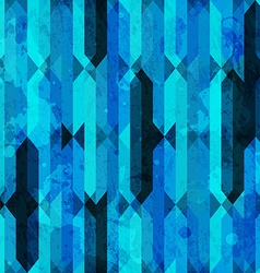 blue grunge crystal seamless texture vector image