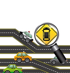 Road signal design vector