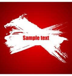 paint grunge splash vector image