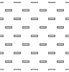 Ram pattern simple style vector