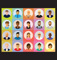 People profile vector