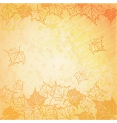 A beautiful autumn vector
