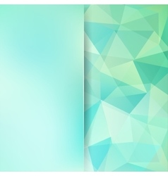 Abstract mosaic background Blur background vector image