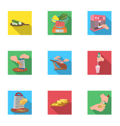 Appliances food vitamins and other web icon in vector