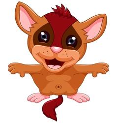 cute Flying squirrel cartoon vector image vector image