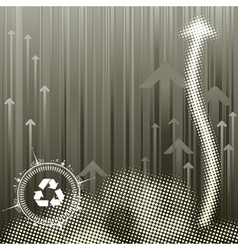 Pollution Background vector image vector image