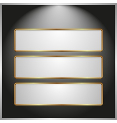 ight banners vector image