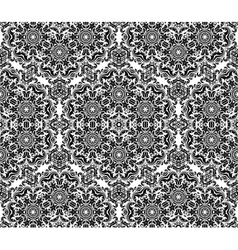 Floral seamless pattern orient abstract vector