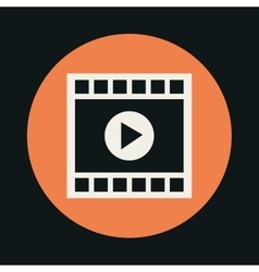Video icon design vector