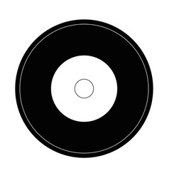 music vinyl isolated vector image
