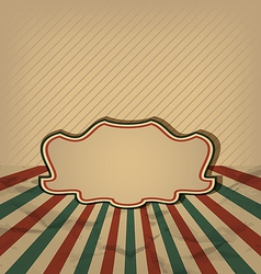 Retro vintage grunge label sun rays background vector image