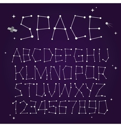 Space font vector
