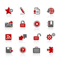 Web 20 icons vector