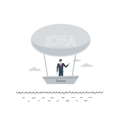 Start-up business idea concept vector