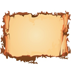 Scroll of old parchment vector