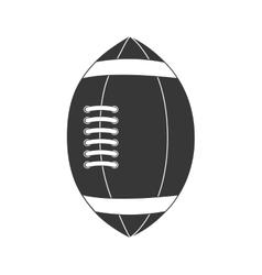 American football ball sport game icon vector