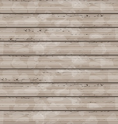 Brown wooden texture grunge background vector image vector image