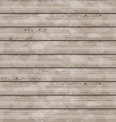 Brown wooden texture grunge background vector image