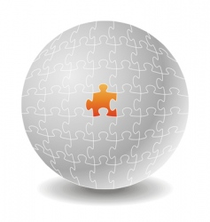 chosen puzzle concepts vector image vector image