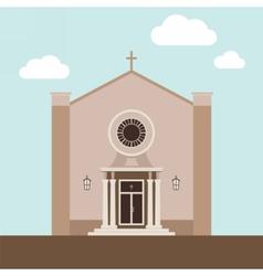 Church building vector