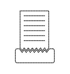 menu for the restaurant brochure template vector image