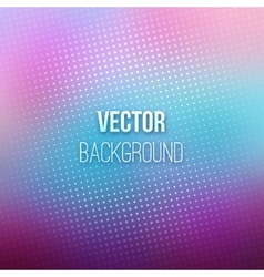 Purple Blurred Background With Halftone Effect vector image vector image