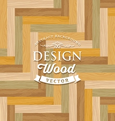 Abstract multicolored tile wood floor vector