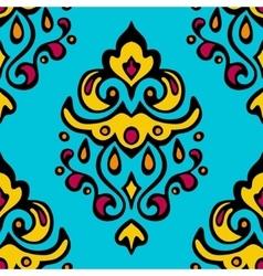 Damask seamless design vector