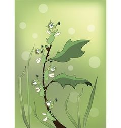 Bugs cartoon vector image