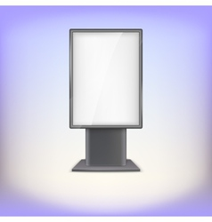 Lightbox with reflections and glare vector