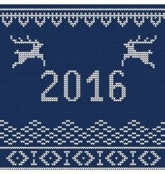 Christmas sweater 5 vector image