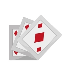 ace pocker magic vector image