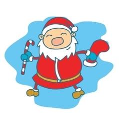 Santa Claus Christmas theme collection vector image