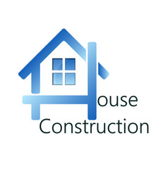 Home construction business vector
