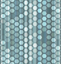 Abstract blue cells seamless vector