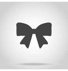 Bow icon on white background vector