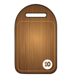 Chopoping board vector