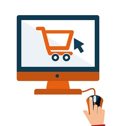 Electronic commerce base 50 anny vector
