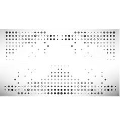 Multiple grey dot abstract bac vector