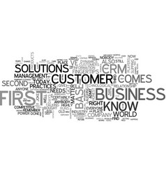 Who s on first when it comes to business vector