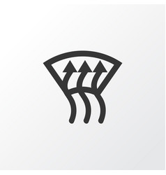 Windscreen defrost icon symbol premium quality vector